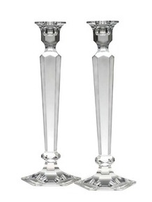 "Summit Candlesticks, Pair 12""H."