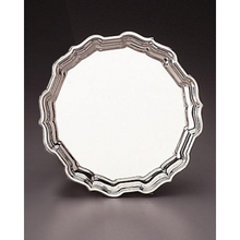 Chippendale Sterling Silver Tray 10""