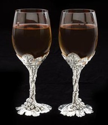 Grape Wine Goblets