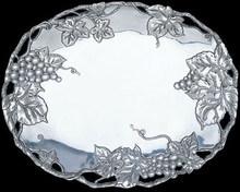 Grape Large Oval Platter