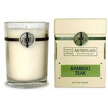 Archipelago Bamboo Teak Candle