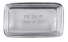 YOU DID IT! Class of 2017 Small Tray