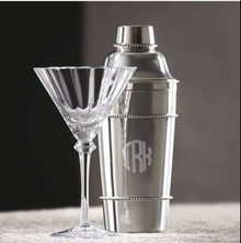 Classic Beaded Cocktail Shaker