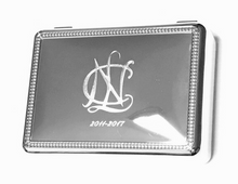 NCL National Charity League Engraved Silver Beaded Box