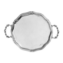 Vintage Pewter Tray Made in Italy