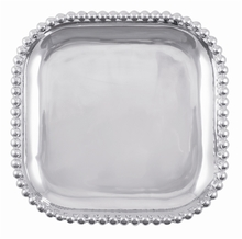 Beaded Edge Square Platter Tray