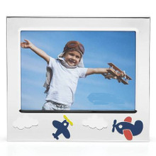 Airplane Frame hold a 5x7 Photo