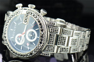 Black Diamond Gucci Watch YA101309 Fully Iced Mens Custom G Face 16.50 ct.