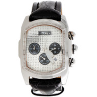 Joe Rodeo Diamond Watch JoJo King Bubble Rectangel Face Crush Dial JKI28 0.36 CT