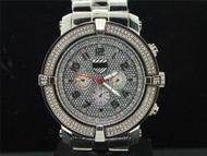Mens Platinum Watch Company 5th Avenue Joe Rodeo 160 Diamond Watch PWC-5AV107