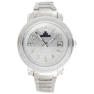 Mens Diamond Watch IceTime Phantom Jojo Jojino Joe Rodeo Illusion Dial 1.25 Ctw.