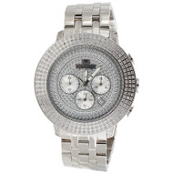 Mens New IceTime Diamond Watch 3 Row Bezel 48mm Case Illusion Dial Prince 3 CT.