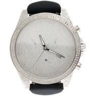 Mens Joe Rodeo / Arctica Real Diamond Watch Glory Case 47mm Illusion Dial 3 CT.