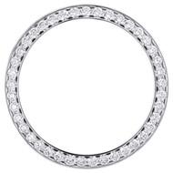 Genuine Round Diamond Watch Bezel 126300 DateJust 41 Rolex 7 Points  2.98 CT.