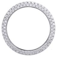 Rolex DateJust Custom Diamond Bezel Fits 36mm Watch Domed Honeycomb Set 4.64 CT.