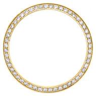 Rolex DateJust / Day-Date Custom Round Diamond Steel Bezel Fits 36mm Watch 1 CT.
