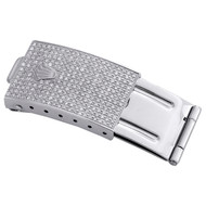 Mens Diamond Watch Band Buckle / Clasp to Fit 36mm Rolex DateJust Case 1.50 CT.