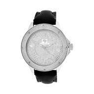 Men's Ice Mania IM3039 Genuine Diamond Roman Marker Illusion Dial Watch 0.08 CT.