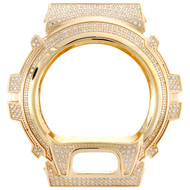 Genuine Diamond Custom Watch Case To Fit Casio G-Shock Model # DW6900 2.50 CT.