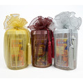Organza Wrapped Jars - 2