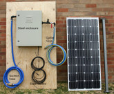 Tiger Weekender/ House Solar Water Pumping System 14 Litres per Minute for up to 4 hours per day