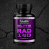 RAD140 had a greater anabolic effect than testosterone, but fewer androgenic side effects.
