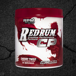 THE NEW RED RUM® CP IS A HIGH PERFORMANCE CREATINE ENGINEERED TO BRING STRENGTH AND MUSCLE GAINS TO NEW LEVELS!