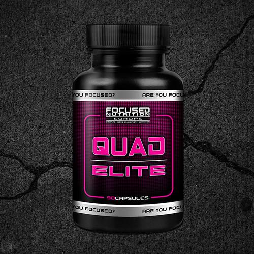 Quad Elite   Focused Nutrition   JW Supplements