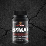 EpiMax utilizes the highest dose of Epiandrosterone with Tetrasorb Delivery Technology to increase aggression, muscle mass, strength, recomp, libido, and definition to turn you into an elite God-like warrior