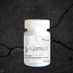 LGD-4033 works by binding androgen receptors in both bone and muscle tissues.