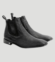 Vestigium Genuine Shark & Calf Ankle Dress Boot