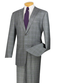 Grey and Lavender Glenplaid
