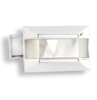 Oblong Mother of Pearl Insert Cufflinks (V-CF-G50905MP)