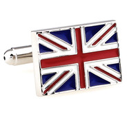 United Kingdom British Flag Cufflinks (V-CF-M60859-S)