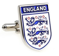 Large England Royal Arms Coat of Arms Cufflinks (V-CF-M210022-S)