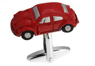 X-Large Red Beetle Car Cufflinks (V-CF-M71061)