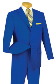 Lucci Royal 3-Button with Pleated Slacks Classic Suit