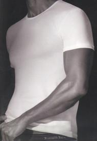 Ermenegildo Zegna® Stretch Cotton Tee Shirt Undershirt
