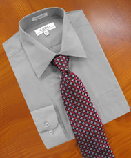 St. Cado Easy Care Cotton Blend Dress Shirt - Regular Cuff