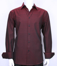 St. Cado Contrasting Cuff Fashion Shirt - Button Cuff