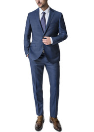 Paul Betenly 2-Button Super 120's Wool Suit - Slim Fit