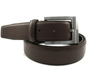 33mm - Bellissimo Leather Belt - Brown