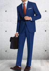 Trend 2-Button Super 140's Wool Suit - Ultra Slim Fit