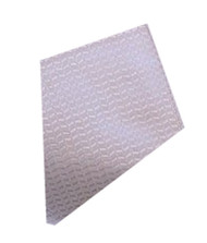 Antonio Ricci Silk Pocket Square - Lavender Weave
