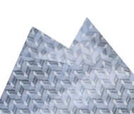 Antonio Ricci Silk Pocket Square - Blue Grey Weave
