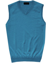 Gionfriddo Wool Blend V-Neck Italian Sweater Vest