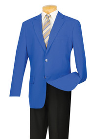 Lucci 2-Button Royal Blue Blazer