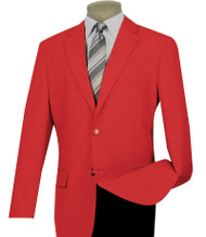 Lucci 2-Button Red Blazer