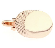 Oversized Rose Gold Cufflinks (V-CF-M68232-RG)