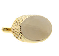 Oversized Gold Cufflinks (V-CF-M68232-G)